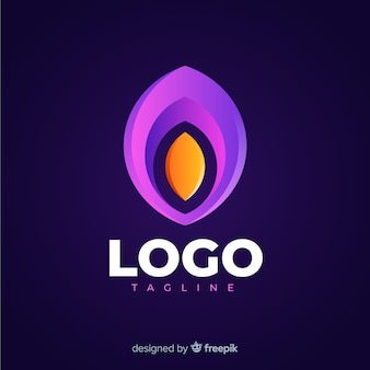 Modernes social media-logo