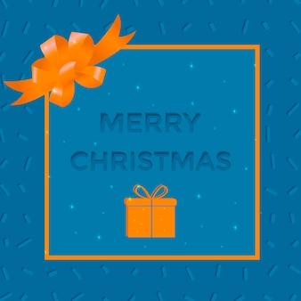 Modernes weihnachtsbanner für geschäfte und webseiten. elegante und moderne werbehintergrundschablone, marketingplakat, einkaufstaschendesign.