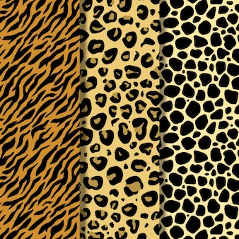 Modernes wildtierfellmuster