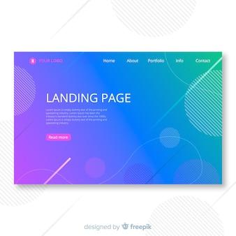Modeshop-landing-page