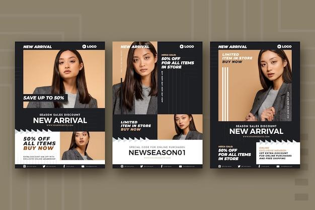 Modeverkauf flyer kollektion