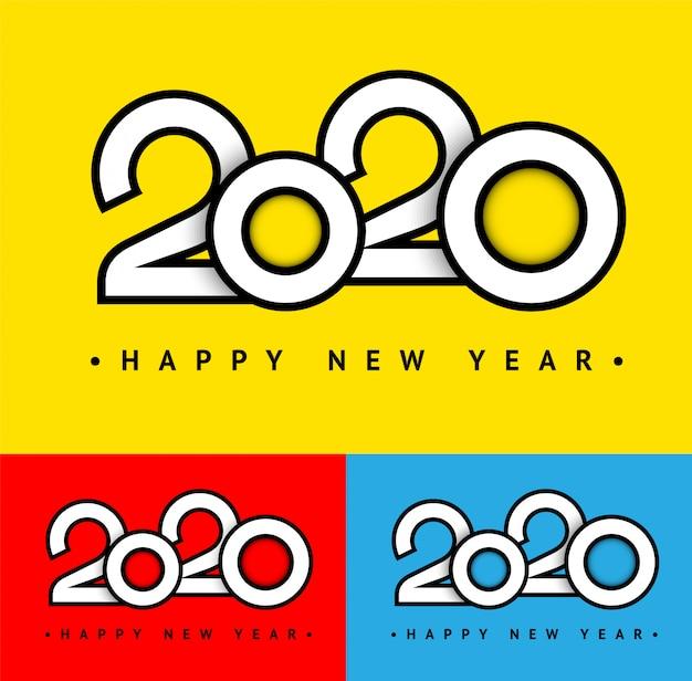 Modischer feiertag 2020 textkartensatz