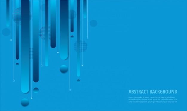 Modischer hintergrund des modernen blauen gradienten