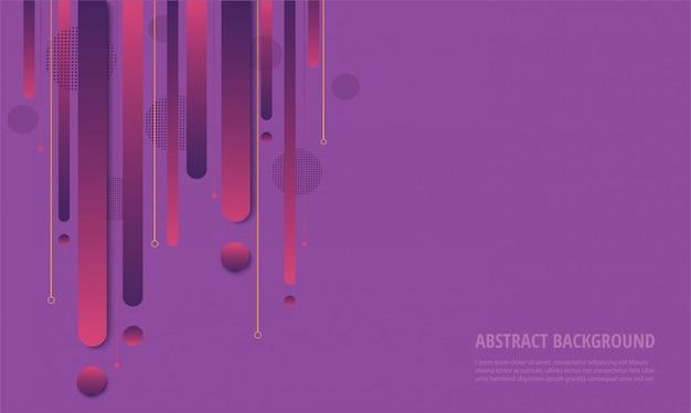 Modischer hintergrund des modernen lila farbverlaufs