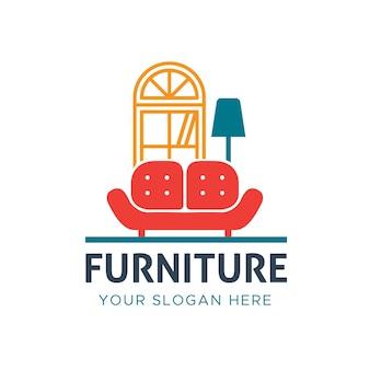 Möbel logo vorlage