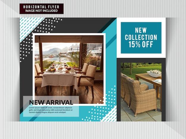 Möbelverkauf horizontal flyer