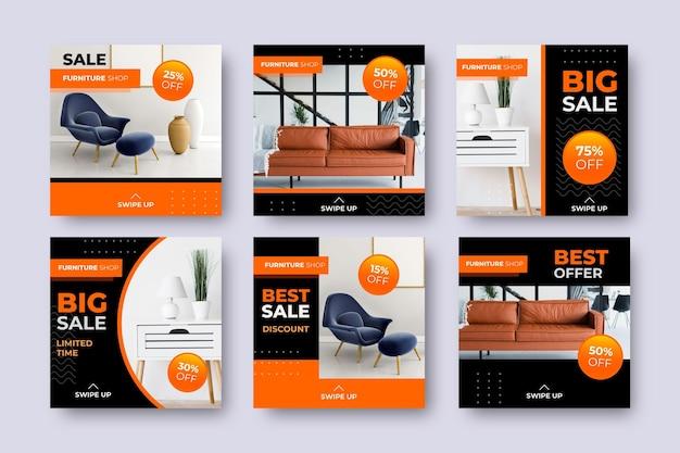 Möbelverkauf ig post set mit bild