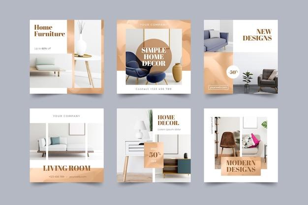 Möbelverkauf ig post set