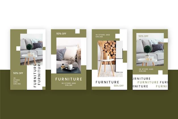 Möbelverkauf instagram geschichte sammlung