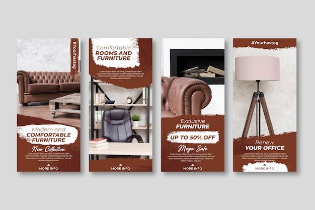 Möbelverkauf instagram geschichten mit foto