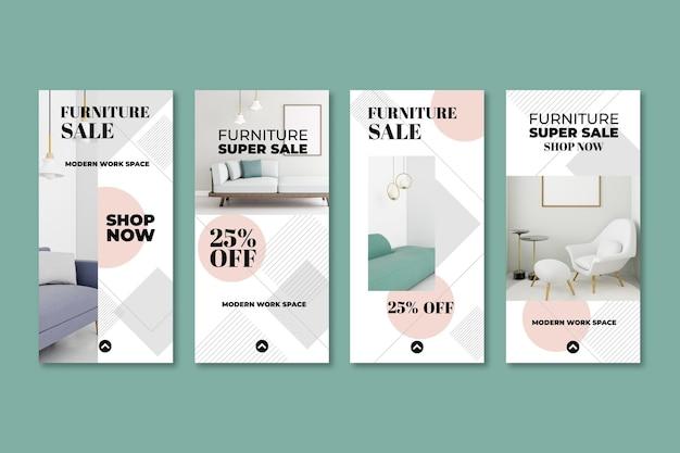 Möbelverkauf instagram geschichten