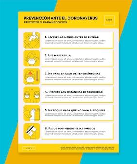 Möglichkeiten zur verhinderung der verbreitung des coronavirus