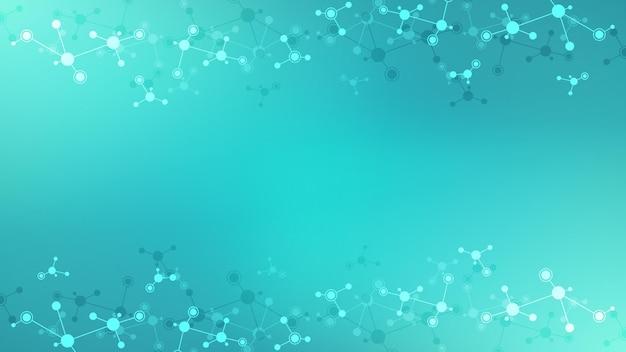 Moleküle oder dna-strang gentechnik neuronales netzwerk