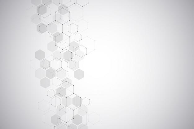 Molekülstruktur hintergrund