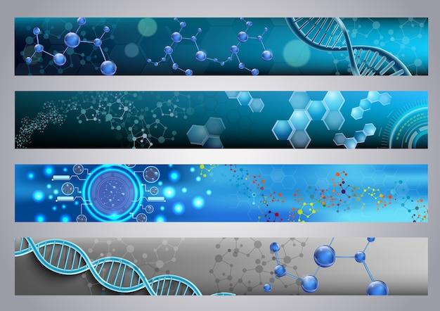 Molekülstruktur und dna-hintergrund