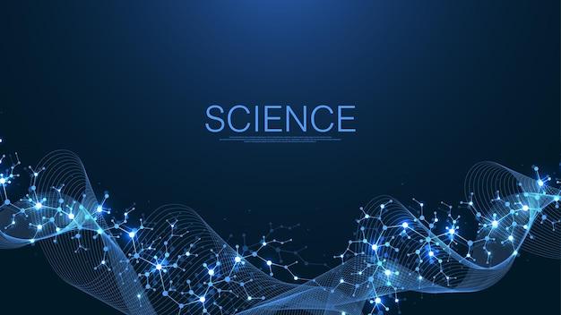 Molekulare abstrakte struktur und gentechnische gesundheitsversorgung