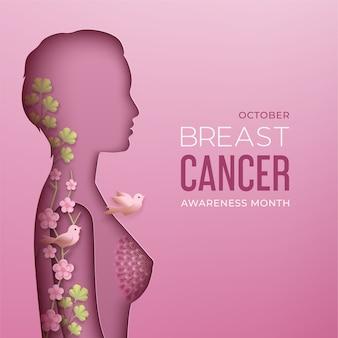 Monat des bewusstseins für brustkrebs