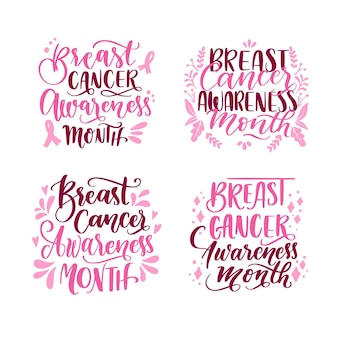 Monatspaket zur aufklärung über brustkrebs