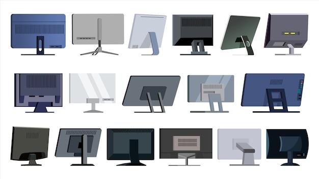 Monitor-set