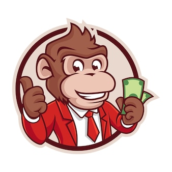 Monkey cash badge version