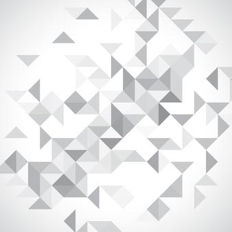 Monochrom low-poly-hintergrund