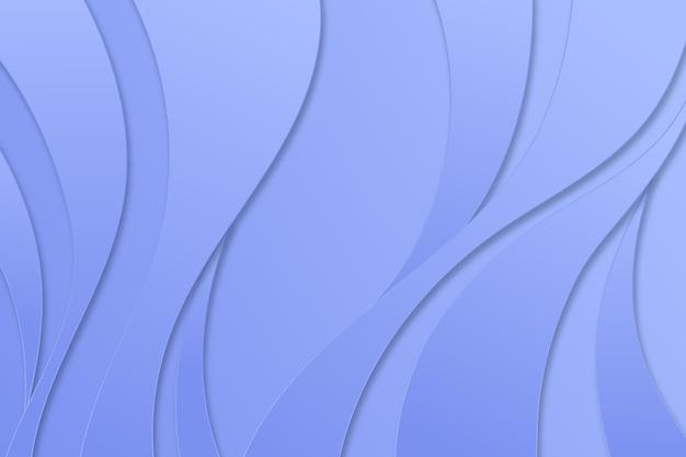 Monochromatischer glatter hintergrund im papierstil