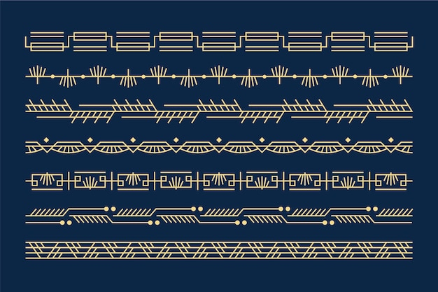 Monochrome header-sammlung