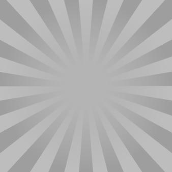 Monochrome strahlen hintergrund