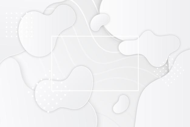 Monochromer hintergrund im papierstil