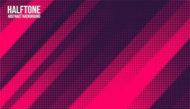 Monochromes druckraster mit abstraktem halbtonhintergrund