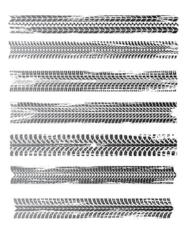 Monochromes grafikmusterset