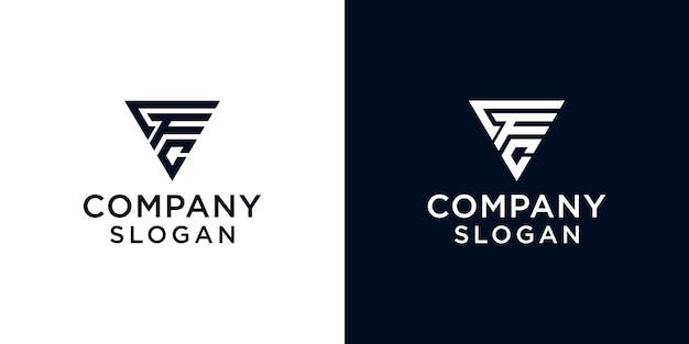 Monogramm-logo-set