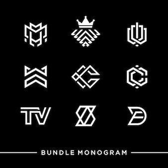 Monogramm-logo