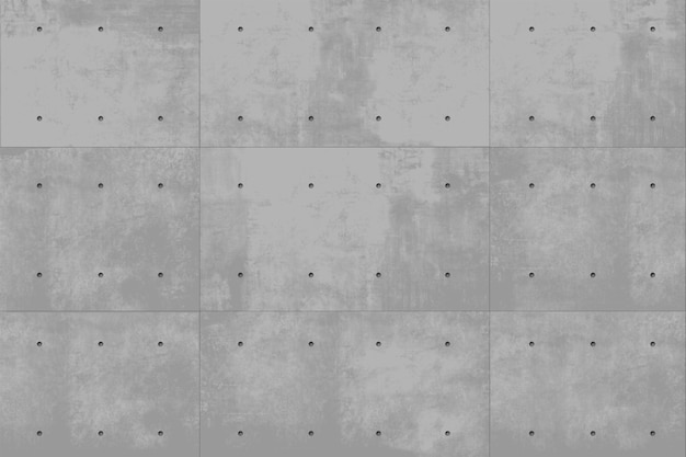 Monolithischer hintergrund der grauen vektorbetonwand. industriebau. moderner dachbodenhintergrund
