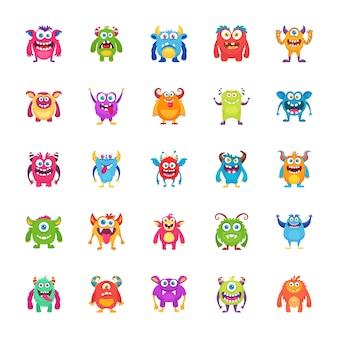 Monster zeichen symbole