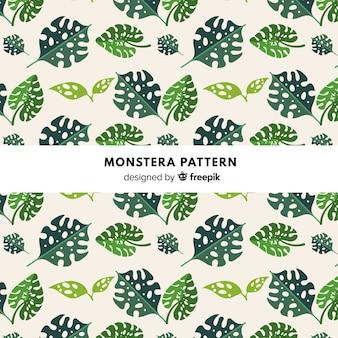 Monstera muster