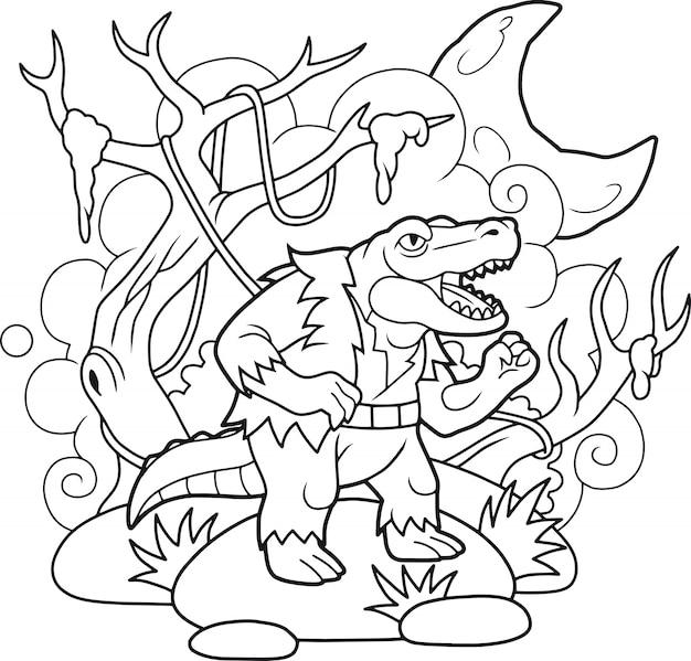 Monsterkrokodil