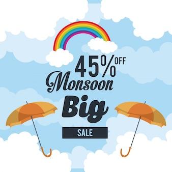 Monsun große verkäufe und rabatte