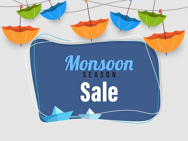 Monsun saison sale poster