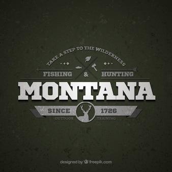 Montana retro logo