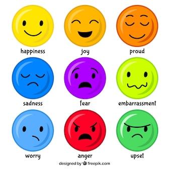 Mood emoticons