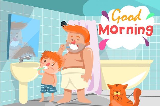 Morgenaktivität