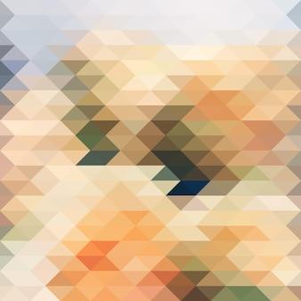 Mosaik aus diamanten mehrfarbiger hintergrund eps 10 vektor.
