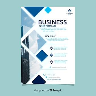 Mosaik business flyer vorlage