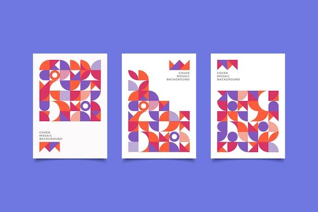 Mosaik-retro-cover-design-kollektion