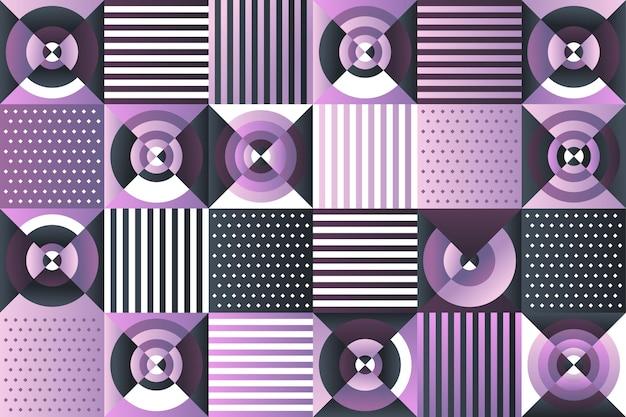Mosaikhintergrund mit farbverlauf