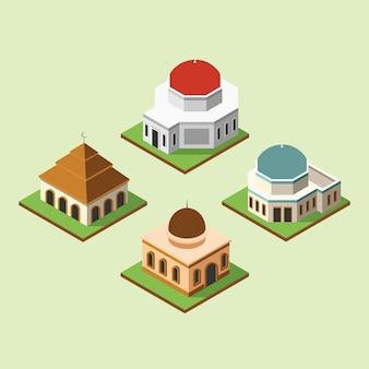 Moschee 3d