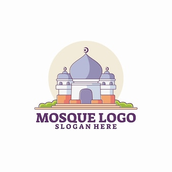 Moschee logo vorlage