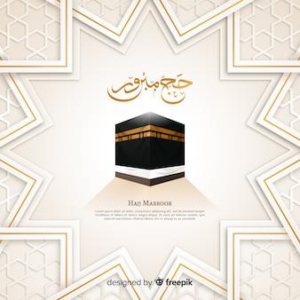 Moslemische feiertags-hadsch-pilgerfahrt