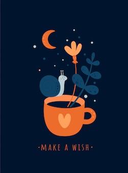 Motivation, alles gute zum geburtstag, glückwunschkarte